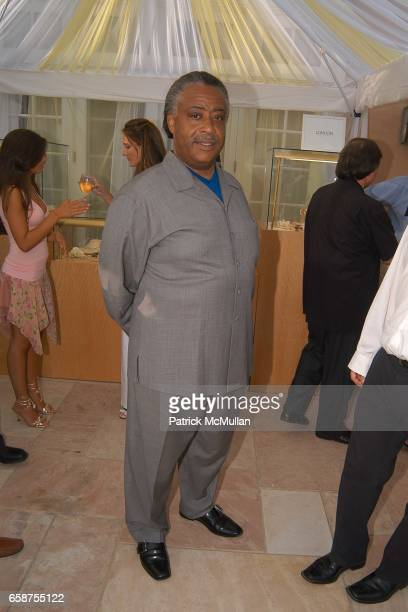 Reverend Al Sharpton attends A Glittering Night Under The Stars to Benefit The G P Foundation for Cancer Research on July 10 2004 at the Denise Rich...