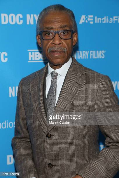 Reverend Al Sharpton attends the 2017 DOC NYC World Premiere of 'Maynard' at IFC Center on November 16 2017 in New York City