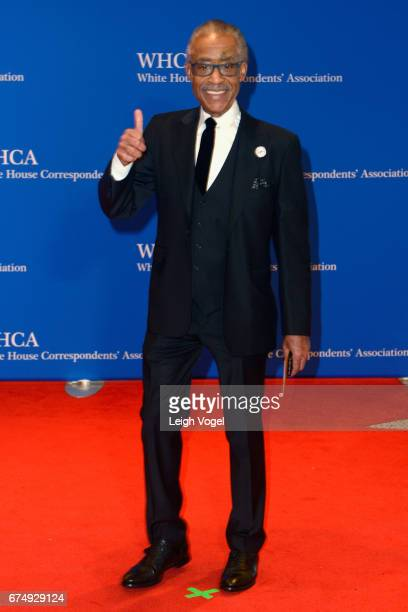 Reverend Al Sharpton attends the 2017 White House Correspondents' Association Dinner at Washington Hilton on April 29 2017 in Washington DC