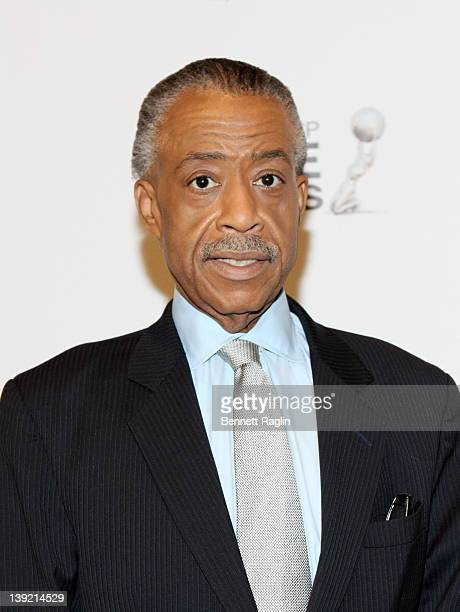 Reverend Al Sharpton attends the 43rd NAACP Image Awards viewing event at NJPAC – Prudential Hall on February 17 2012 in Newark New Jersey