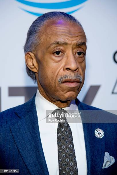 Reverend Al Sharpton attends 'The Humanity of Connection' New York screening at Jazz at Lincoln Center on March 15 2018 in New York City