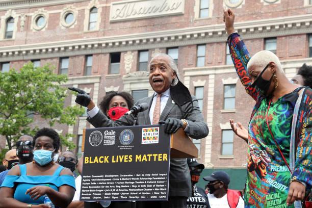 NY: Black Lives Matter Harlem Street Mural Community Kickoff