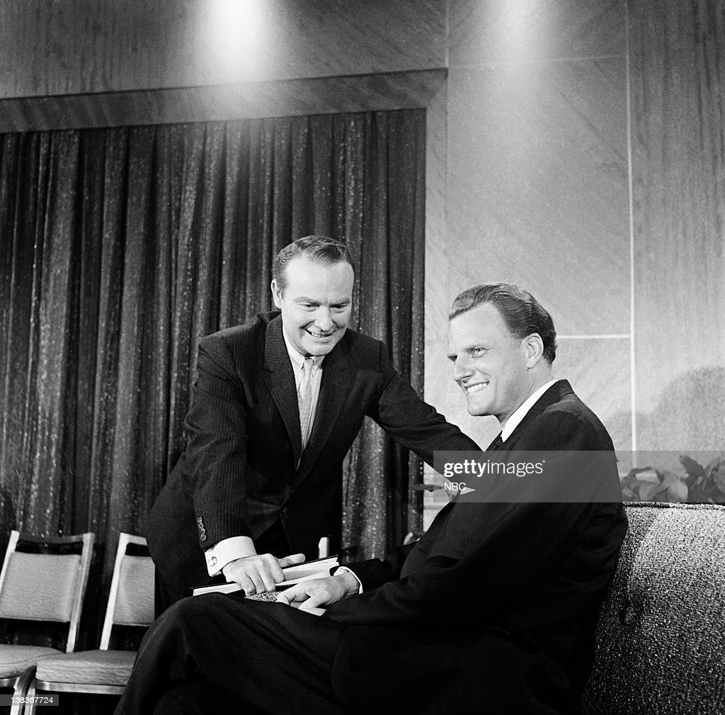 LIFE -- 'Reverend Billy Graham' -- Pictured: (l-r) Host Ralph Edwards, Rev. Billy Graham