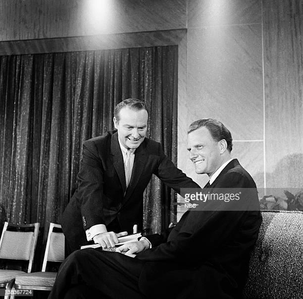 "Reverend Billy Graham"" -- Pictured: Host Ralph Edwards, Rev. Billy Graham"