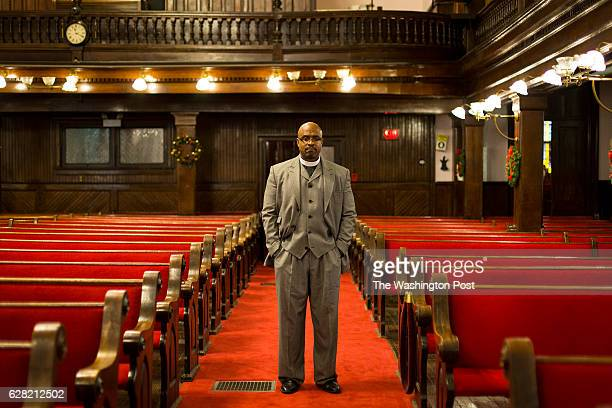 Reverend Eric Manning poses for a portrait in his church Mother Emanuel AME Church Tuesday Dec 06 2016 in Charleston