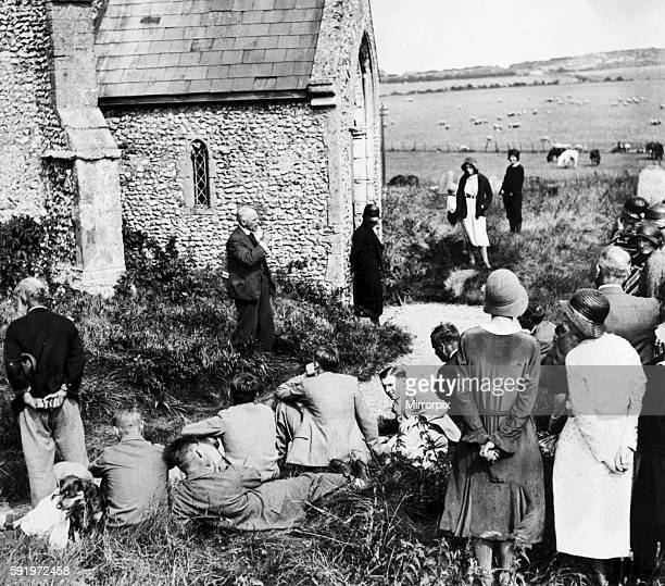 Reverend Harold Francis Davidson the Rector of Stiffkey in Norfolk a Church of England priest who after a notorious court case in 1932 was convicted...