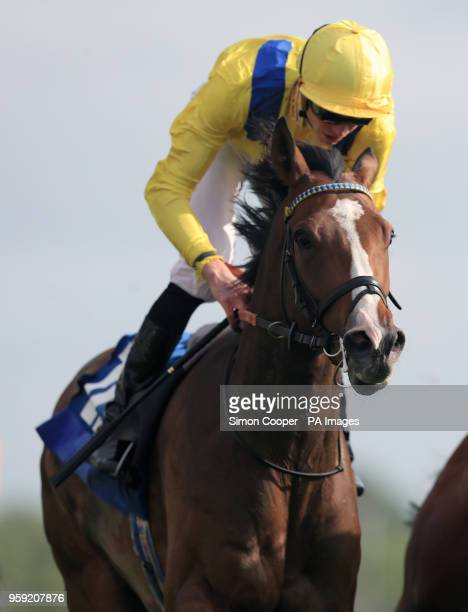 Reverend Jacobs ridden by James Doyle wins the Oaks Farm Stables Handicap during day one of the 2018 Dante Festival at York Racecourse York PRESS...