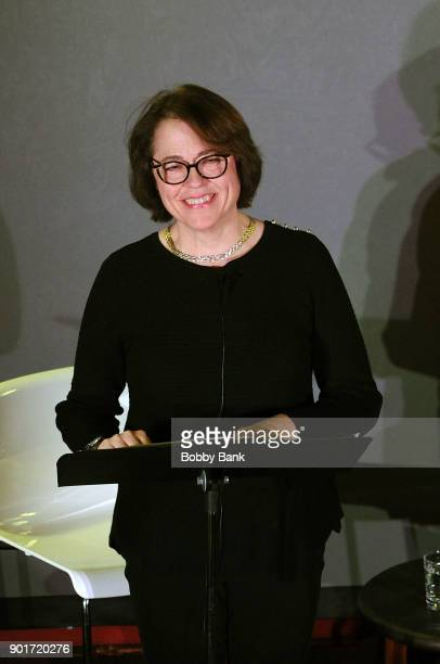 Reverend Janet Broderick reads Truman Capote's A Christmas Memory A Reading By Matthew Broderick at St Peter's Episcopal Church on January 5 2018 in...