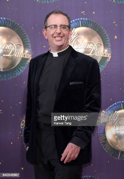 Reverend Richard Coles attends the 'Strictly Come Dancing 2017' red carpet launch at Broadcasting House on August 28 2017 in London England