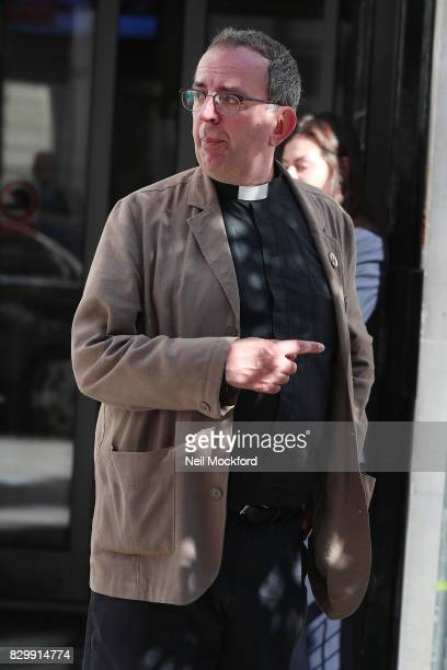 Reverend Richard Coles seen leaving BBC Radio 2. The Pop star turned vicar is the latest contestant to sign up for Strictly Come Dancing 2017 on...