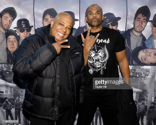"""Reverend Run and DMC of Run-DMC attend a signing for Glen E. Friedman's """"Together Forever: The Run-DMC And Beastie Boys Photographs"""" at Barnes &..."""
