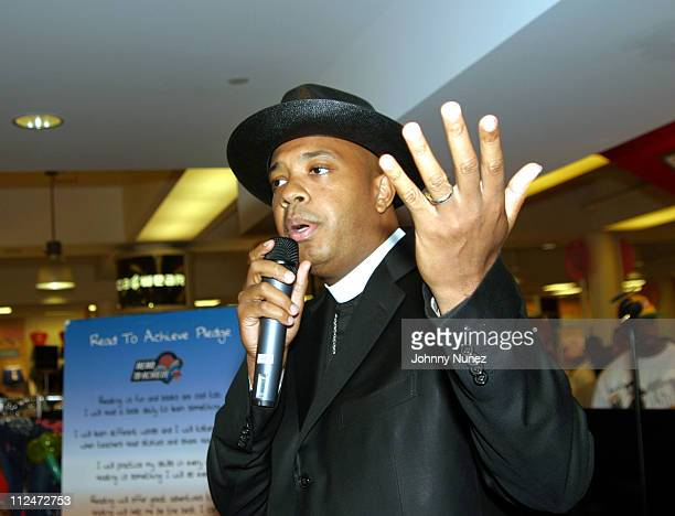 Reverend Run during Baby Phat Presents Read to Achieve at Macy 's Herald Square in New York City New York United States