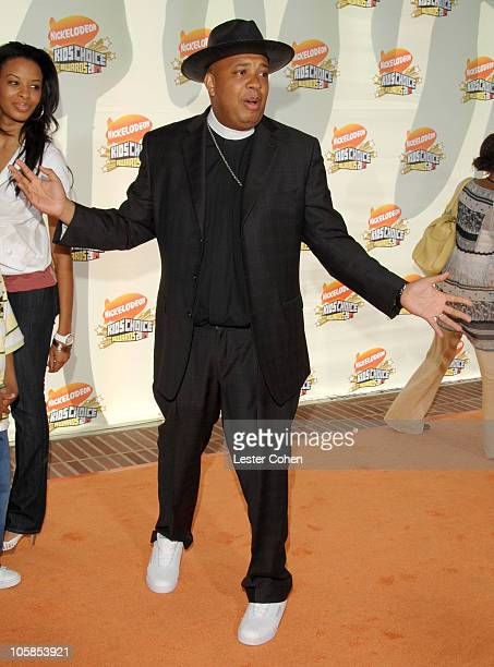 Reverend Run during Nickelodeon's 20th Annual Kids' Choice Awards Arrivals at Pauley Pavilion in Westwood California United States