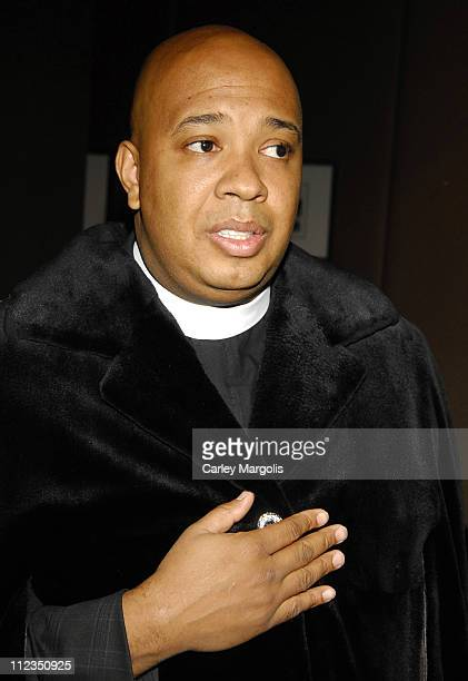 Reverend Run during Russell Simmons and Simmons Jewelry Company To Announce Diamond Empowerment Fund December 5 2006 at Mandarin Hotel in New York...