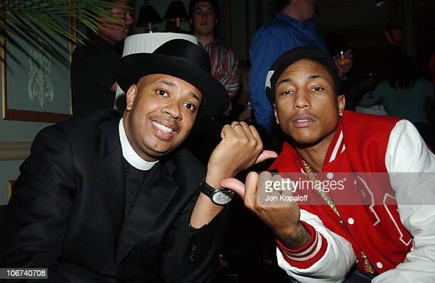 Reverend Run from Run DMC and Pharrell Williams **Exclusive