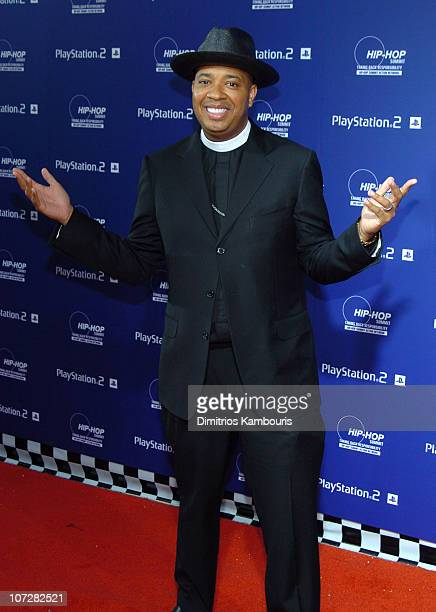 Reverend Run of RunDMC during Sony Playstation 2 Teams with Russell Simmons and the HipHop Summit Action Network to Race to the Polls Arrivals at...