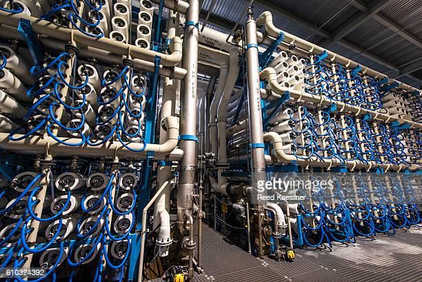 Reverse Osmosis Desalination plant Carlsbad, California, United States.
