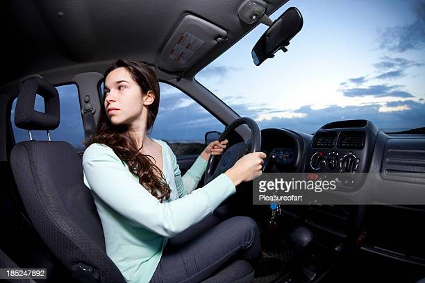 Reversing a car