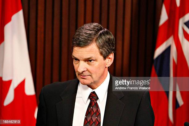Review Newser02/25/08Attorney General Chris Bentley answers a reporters question at Queen's Park February 25 2008 The McGuinty Government have...