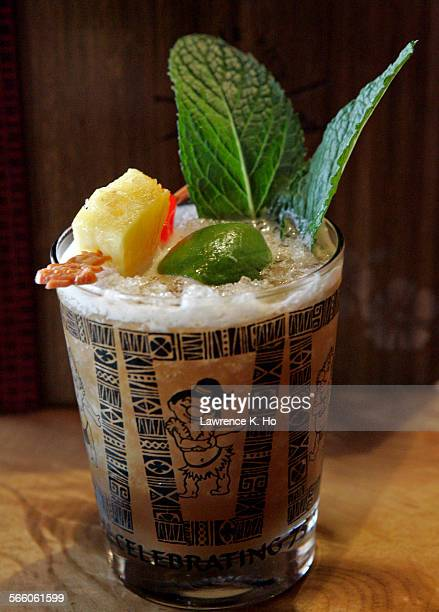 Review of new Trader Vic's location in the LA Live entertainment complex The famous Mai Tai drink in the restaurant
