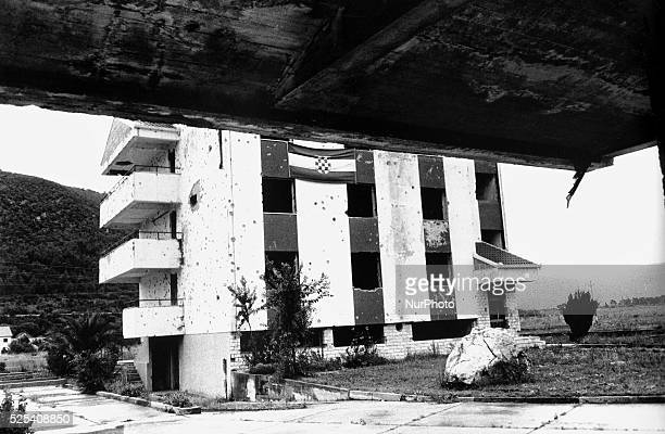 Revisiting the ruins of the 19921996 Balkan war in Bosnia and Herzegovina The signs of war and life in Rastani in Bosnia and Herzegovina on September...
