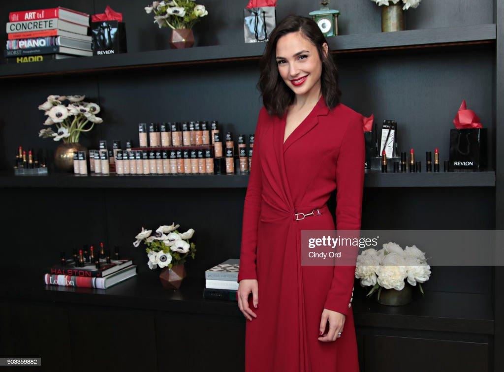 Revlon announces Gal Gadot as new Global Brand Ambassador on January 9, 2018 in New York City.