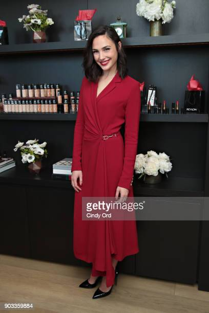 Revlon announces Gal Gadot as new Global Brand Ambassador on January 9 2018 in New York City