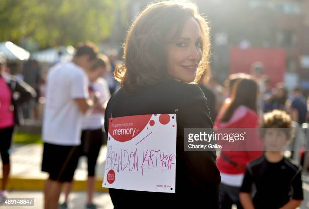 Revlon Run/Walk CoFounder Lilly Tartikoff attends the 21st Annual EIF Revlon Run Walk For Women on May 10 2014 in Los Angeles California