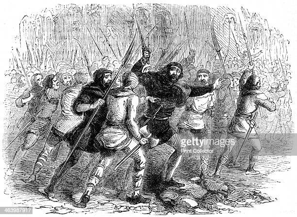 Revolt of the citizens of London against Matilda 1141 Stephen the last Norman King of England reigned from 1135 to 1154 He supported the claim to the...