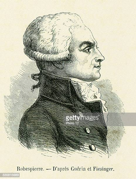 Revolution Maximilien François Marie Isidore de Robespierre born on the 6th May 1758 in Arras died on the 28th July 1794 in Paris at the Place de la...