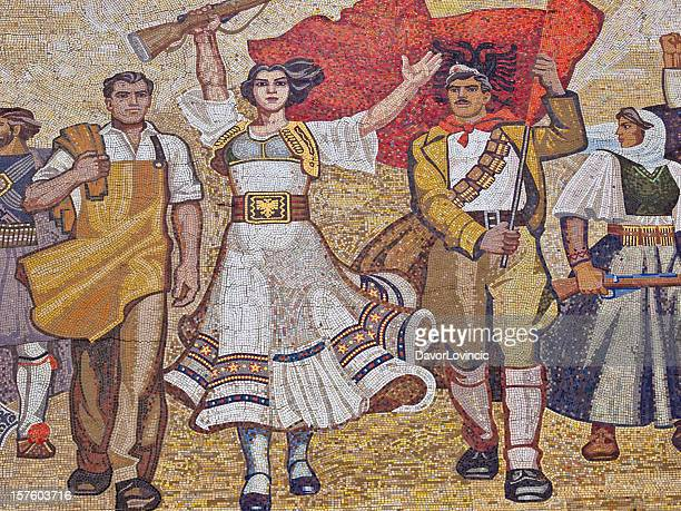 revolution - albania stock pictures, royalty-free photos & images