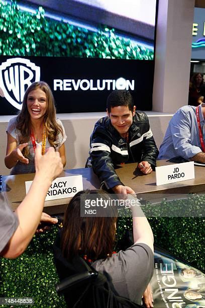 EVENTS Revolution Signing Pictured Tracy Spiridakos JD Pardo