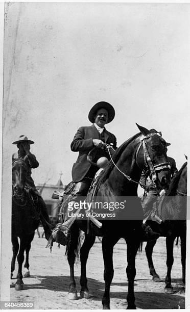 Revolutionary Pancho Villa on Horseback
