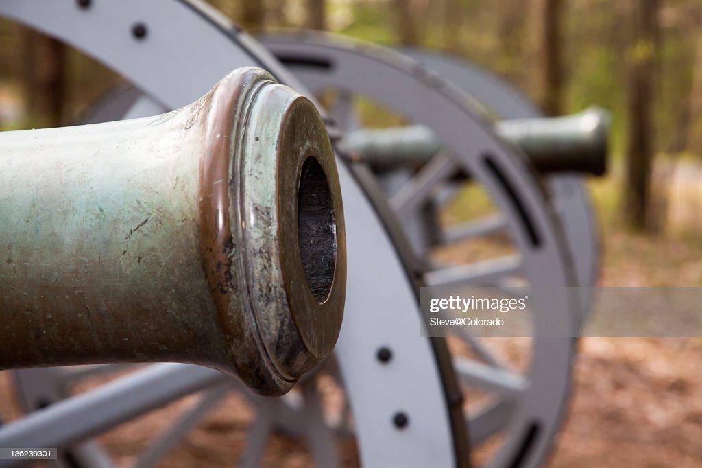 Revolutionary War Cannon : Stock Photo