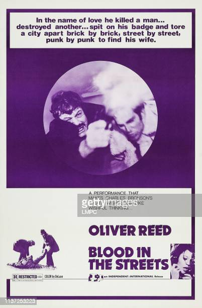 Revolver poster US poster art top from left Oliver Reed Fabio Testi bottom right inset Agostina Belli 1973