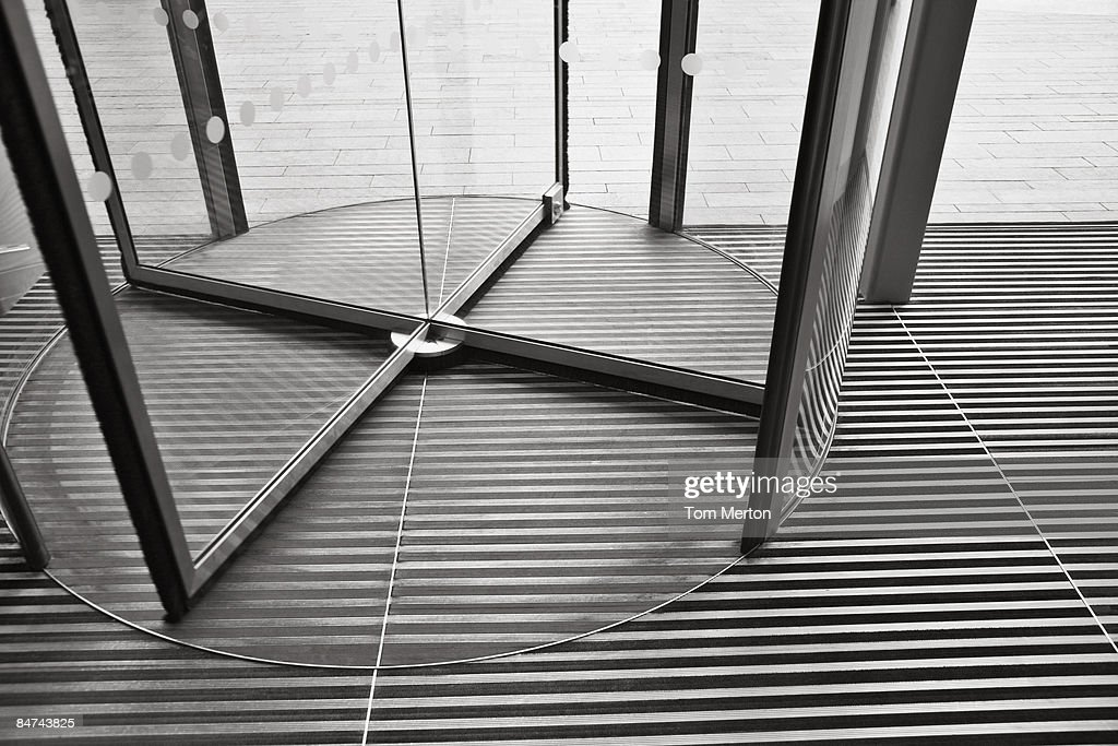 Revolving door : Stock Photo