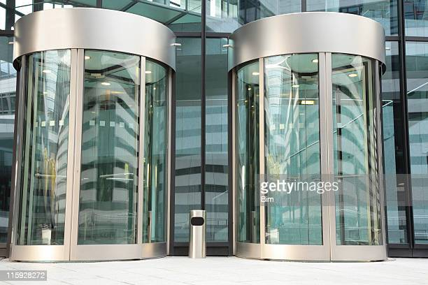 revolving doors - revolve stock photos and pictures