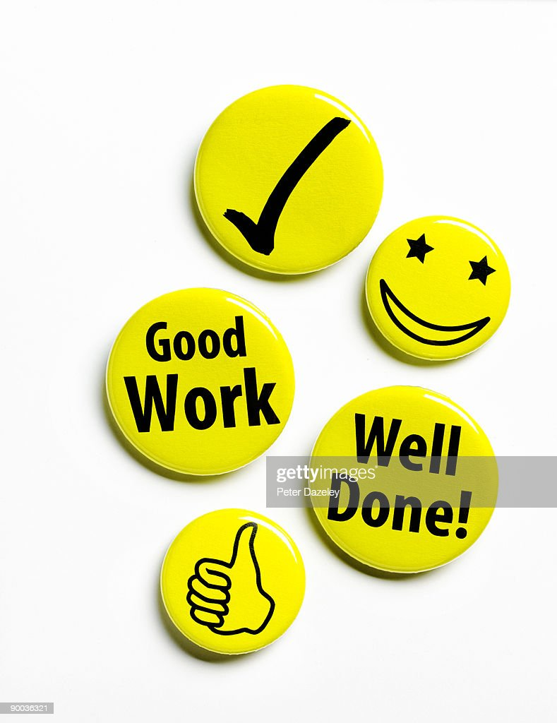 reward motivation button badges. : Stock Photo