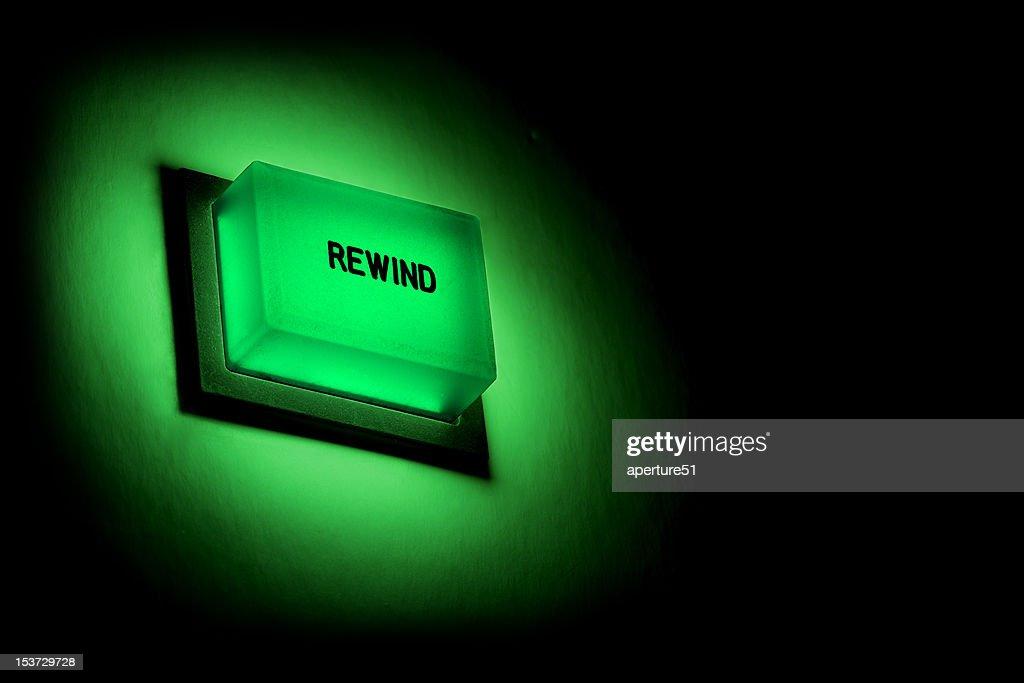 Rewind Button : Stock Photo