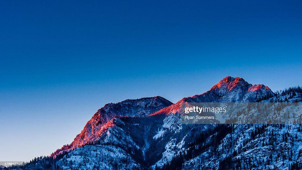 Rex Creek Sunrise : Stock Photo