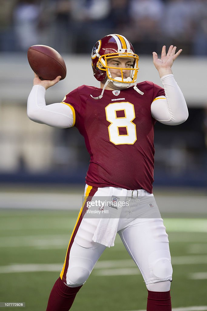 Rex Grossman of the Washington Redskins warms up before a game  for cheap