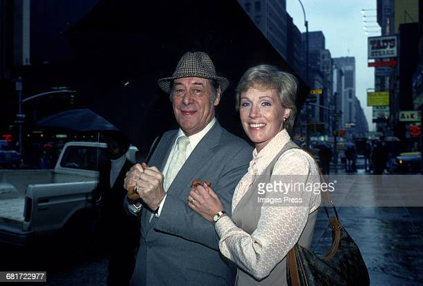 Rex Harrison and Julie Andrews circa 1979 in New York City