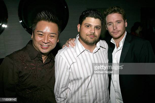 Rex Lee Jerry Ferrara and Kevin Connolly during Brooklyn Rules Los Angeles Premiere After Party at Parc Restaurant in West Hollywood California...
