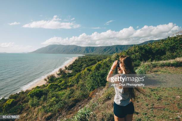rex lookout cairns backpacker - cairns stock pictures, royalty-free photos & images