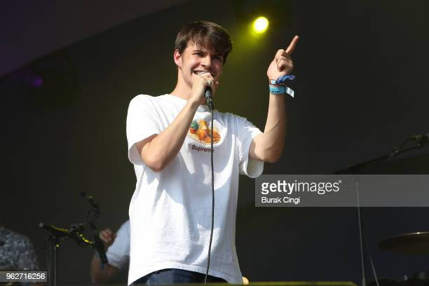 Rex Orange County performs on day 2 of All Points East Festival at Victoria Park on May 26 2018 in London England