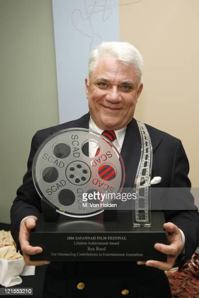 Rex Reed, Recipient of the Lifetime Achievement Award in Cinema