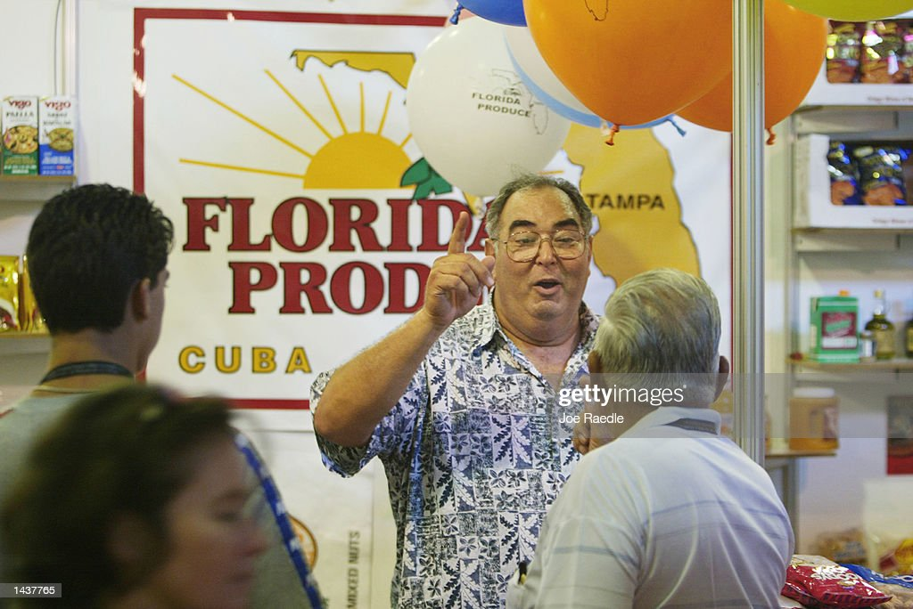 U S Food Agribusiness Exhibition Cuba Pictures Getty Images