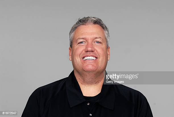 Rex Ryan of the Baltimore Ravens poses for his 2008 NFL headshot at photo day in Baltimore Maryland