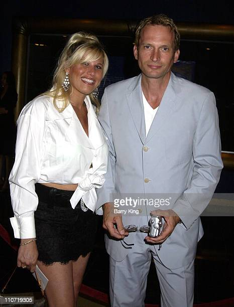 Rex Smith and wife Courtney during The Magic Castle Presents For Roy With Love Tribute at Academy of Magical Arts Awards at Henry Fonda Music Box...