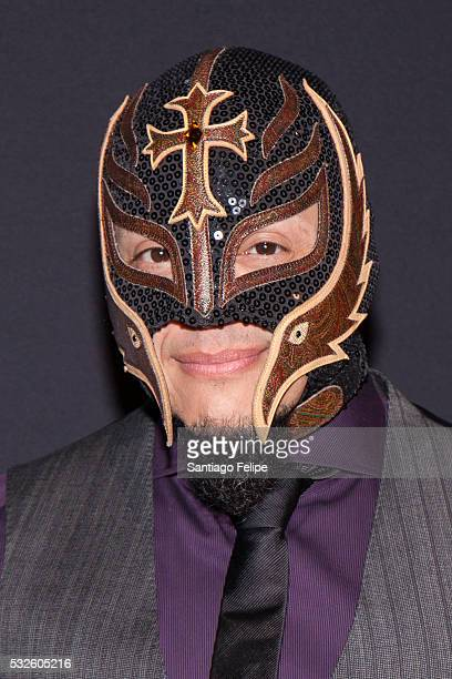 Rey Mysterio attends The Paley Center for Media's Tribute To Hispanic Achievements in Television at Cipriani Wall Street on May 18 2016 in New York...